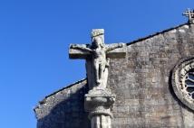 In front of Igrexa de San Francisco; Betanzos, Spain