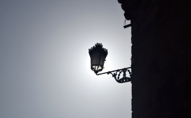 Light fixture; Betanzos, Spain