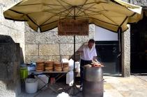 Come here for the BEST pulpo a feira; Santiago de Compostela